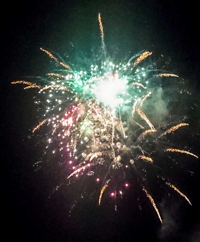 Vulcanus - Feuerwerk